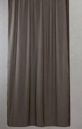 Compliments ´Lines´ bruseforhæng m/kouser 140x200 cm - Brun