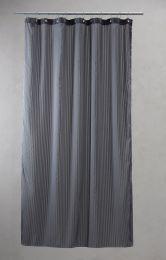 Compliments ´Lines´ bruseforhæng m/kouser 140x200 cm - Grå