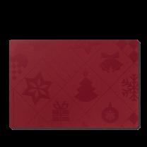 Juna ´Natale´ dækkeserviet 43x30 cm - Rød
