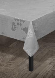 Juna ´Natale´ damaskdug 150x270 cm - Grå