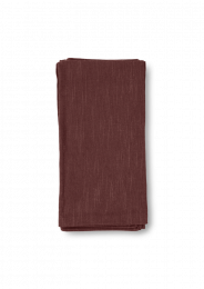 Juna ´Basic´ Stofservietter 45x45 cm  4 stk - Chokolade