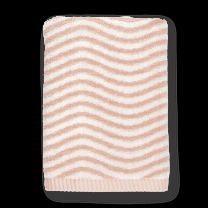 Juna ´Ocean´ håndklæde 50x100 Nude/lysegrå