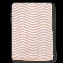 Juna ´Ocean´ håndklæde 70x140 cm - Nude/lysegrå