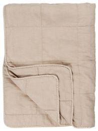 Ib Laursen quiltet sengetæppe 180x200 cm - Fog