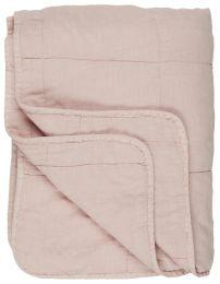 Ib Laursen quiltet tæppe/vattæppe - Rosa