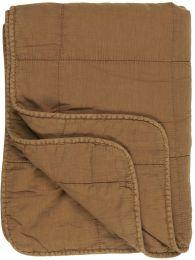 Ib Laursen quiltet tæppe/vattæppe - Clay