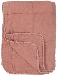 Ib Laursen quiltet tæppe/vattæppe - Desert rose