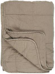 Ib Laursen quiltet tæppe/vattæppe - Linen