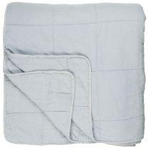 Ib Laursen quiltet sengetæppe - Lyseblå