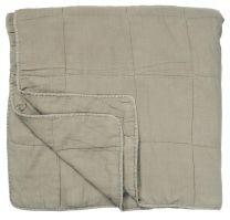Ib Laursen quiltet sengetæppe 240x240 cm - Fog
