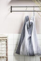Ib Laursen vasketøjspose - M/ grå striber