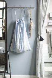 Ib Laursen vasketøjspose - M/ blå striber