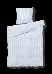 Juna Bæk og bølge sengetøj - lys blå/hvid
