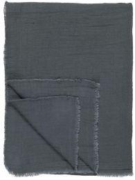 Ib Laursen dobbeltvævet plaid - Historical blue