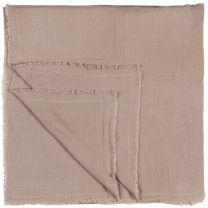 Ib Laursen sengetæppe dobbeltvævet 240x240 cm - Rosa