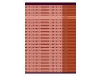 Södahl ´Ease´ viskestykke 50x70 cm - Terracotta