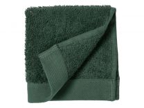 Södahl Comfort Organic vaskeklud 30x30 cm - Deep green/Mørkegrøn