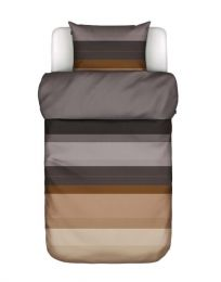 Marc O´Polo ´Kiya´ sengetøj 140x220 cm - Warm charcoal