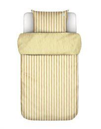 Marc O´Polo ´Mikkeli´ sengetøj 140x220 cm - Gul/hvid
