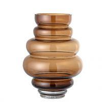 Bloomingville ´Atija´ vase - Brunt glas