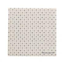 Bloomingville ´Hasse´ servietter 20 stk - Hvid/blå