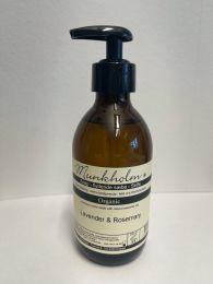 Munkholm Organic flydende sæbe 250 ml - Lavendel og rosmarin
