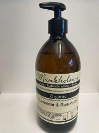 Munkholm Organic flydende sæbe 500 ml - Lavendel og rosmarin