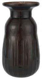 Ib Laursen ´Stillenat´ hyacintvase - Pebbled glas Bordeaux