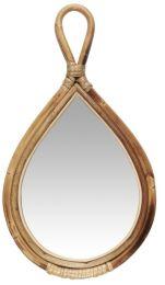 Ib Laursen håndspejl m/bambuskant