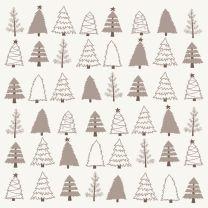 Ib Laursen servietter m/juletræer 20 stk.