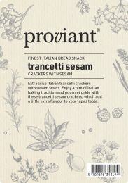 Proviant Trancetti crakers - Sesam