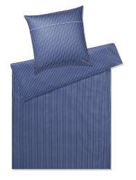 Elegante Sengetøj ´Race´ 135x200 cm - Mørkeblå
