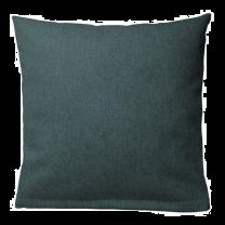 Pagunette ´Plain´ pyntepude i uld 45x45 cm - Blå/petroleum