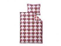 Södahl ´Jubilee tree´ baby sengetøj 70x100 cm - Lilla/Pink