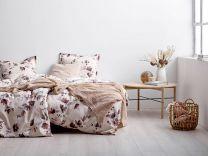 Södahl ´Delicate Petals´ sengetøj 200x200 cm - Natur