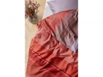 Södahl ´Fine lines´ sengetøj 140x200 cm - Terracotta