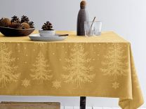 Södahl ´Winterland´ damaskdug 150x220 cm - Golden