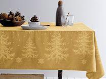 Södahl ´Winterland´ damaskdug 150x270 cm - Golden