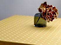 Södahl ´Squares´ damaskdug 140x270 cm - Golden