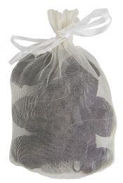 Ib laursen pose med 10 mini julekugler - Mørk brun/mat