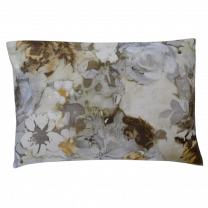 Pagunette ´Clarissa´ pyntepude 40x60 cm - Grå/mørk gul/brun/off-white