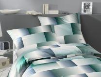 Joop ´Range´ Sengetøj til dobbeltdyne 200x200 cm - Silver blue