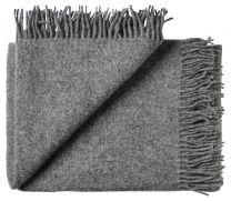 Silkeborg Uldspinderi ´Athen´ uld plaid 130x200 cm - Dark Nordic grey