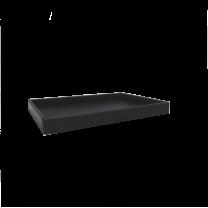 Sej Design rektangulær bakke i PUR Gummi  24x33x3 cm