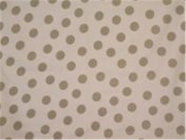 Pagunette ´Bum´ bruseforhæng 160x200 cm - Hvid/sand