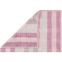 Cawö ´Noblesse interior - Stripes´ håndklæde 50x100 cm - Rosa