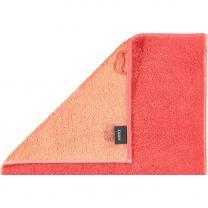 Cawö  ´Unique´ håndklæde  50x100 cm - Koral