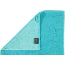 Cawö  ´Unique´ håndklæde  50x100 cm - Turkis