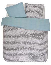 Covers & co ´Club´ sengetøj 140x200 cm - Beige/blå