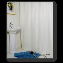 Engholm badeforhæng ´Hilton´ 180x220 cm - Hvid